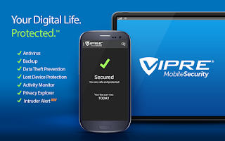 Screenshot of VIPRE Mobile Security