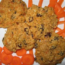 Peanut Butter Carrot Cookies