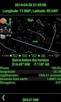 Screenshot of Planet Finder