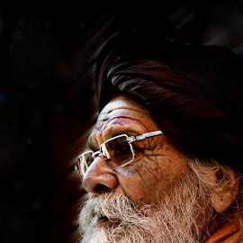 The Devoted Soul by Arnab Bhattacharyya - People Portraits of Men