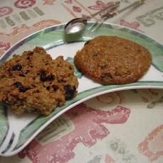 Cakey Oatmeal Raisin Cookies