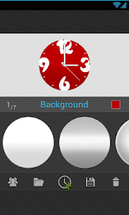 ClockWurkx Analog Clock Widget - screenshot