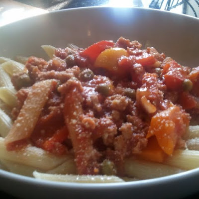 Penne with Chicken and Vegetables