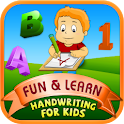 Fun & Learn : Handwriting kids icon