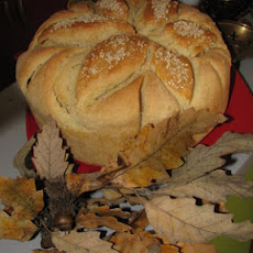 Serbian Christmas bread
