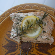 BBQ Salmon With Rosemary and Lemon