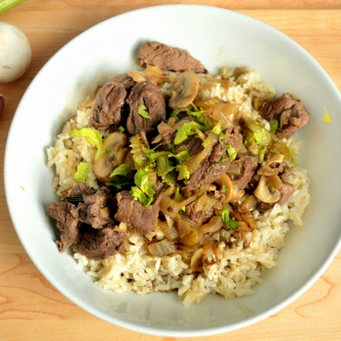 Beef Tips with Mushrooms