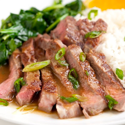 Orange Miso Steak