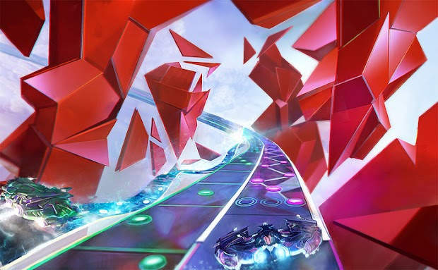 Amplitude development moving onto the core game experience