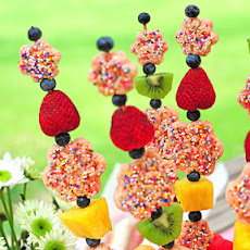Fruity Rice Krispies Kebabs