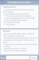 Screenshot of Minhas Receitas Light
