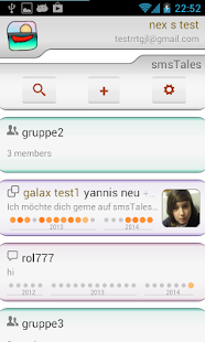 smsTales - Chat and SMS - screenshot
