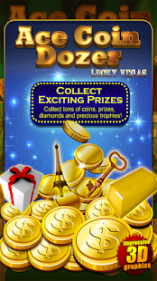ACE COIN DOZER Lucky Vegas - screenshot