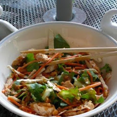 Grilled Chicken Satay Salad