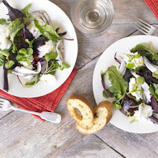 Beetroot & Mozzarella Salad With Maple Dressing