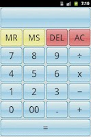 Screenshot of SimpleCalc Calculator