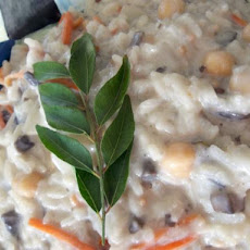 Cumin and Curry Leaf Creamy Risotto