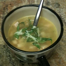 Turkey and Navy Bean Soup
