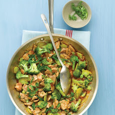 Broccoli and Pork Stir-Fry