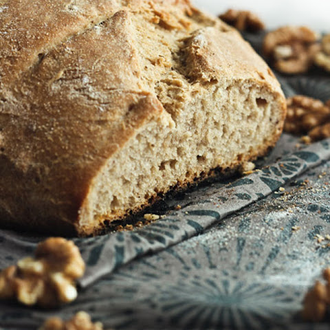 Rustic Wheat, Date & Walnut Bread