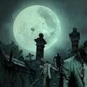 Zombie Graveyard Live Wallpape icon