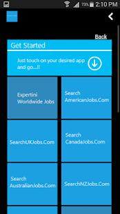 Job Search Global - screenshot