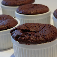 Molten Chocolate-Nutella Pudding Cakes