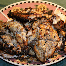 Mississippi-style Grilled Catfish and White Perch