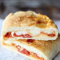 Homemade Stuffed Pizza Pockets