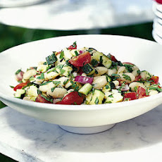 Butter Bean & Tomato Salad