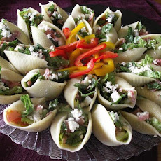 Chopped Salad Appetizer Shells