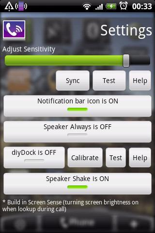 Speaker Shake - Advance
