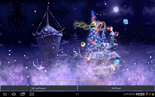 Screenshot of Christmas Snow Fantasy Free