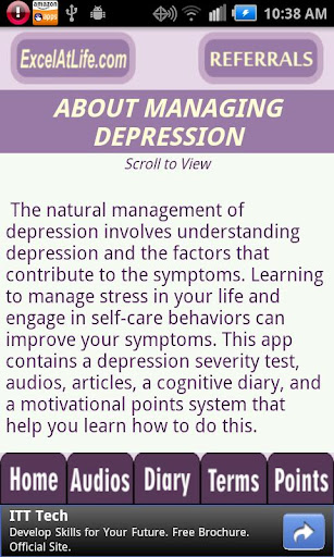 【免費醫療App】Depression CBT Self-Help Guide-APP點子