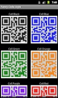 Screenshot of Fancy QR Code