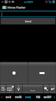 Screenshot of Mail Tap - Morse Code Keyboard