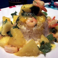 Tropical Passion Sweet & Sour Shrimp