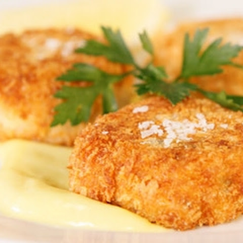Tuna Croquettes With Wasabi Mayonnaise
