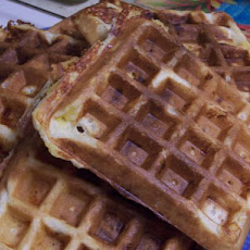 Bacon & Cheese Waffles