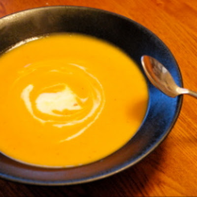 Curried Carrot and Sweet Potato Soup