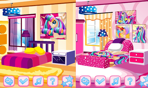 My Little Pony Room Decoration Games