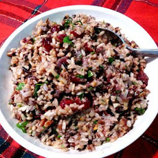 Cranberry-Pecan Brown Rice Stuffing
