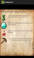 Screenshot of Crafted Pro: A Minecraft Guide