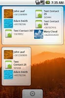 Screenshot of Smart Call Widget