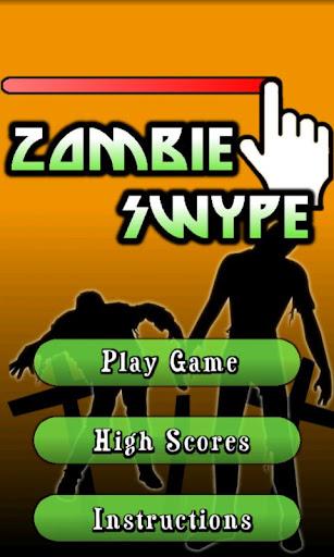 Zombie Swype