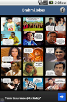 Screenshot of Brahmi Jokes