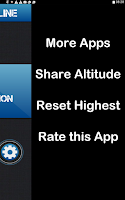 Screenshot of Altimeter Offline