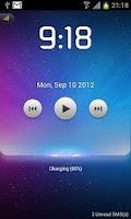 Screenshot of Starry lock screen-MagicLocker