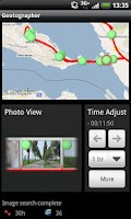 Screenshot of Geotographer Lite