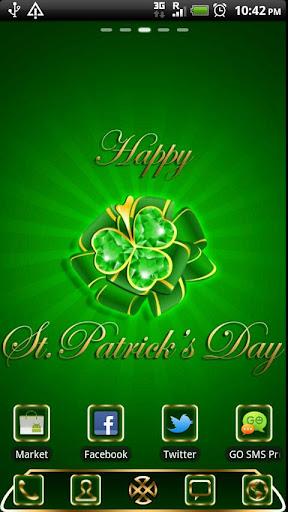 GO Launcher St.Patrick's Day